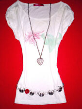 QS by S.OLIVER SHIRT ROMANTIK BoHo BLUMEN HIPPIE BLOGGER M L 38 40 NEUW.!! TOP