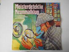 LP-Vinyl  >Meisterdetektiv Neunmalklug<  Das Ei des Kolumbus + Der Automarder
