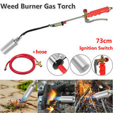 Propane Torch Weed Burner Fire Starter Ice Melter Wand Igniter Roofing 2m Hose