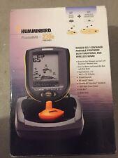 Fischfinder Humminbird PiranhaMax 230 Portable Echolot Tragekoffer LCD neuwertig