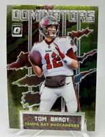 Tom Brady 2020 Donruss Optic Insert Dominators Card #DM-TB Buccaneers GOAT MVP