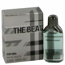 Burberry The Beat 0.15oz./4.5ml Edt Mini Splash For Men New In Box