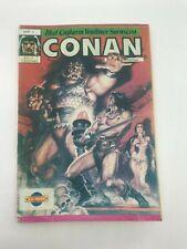 CONAN #4 - Foreign Comic Book - 1990s 90s - VERY RARE - 5.0 VG/FN