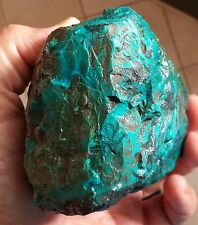 1135 GRAMS EILAT STONE  COLOR AZURITE ROUGH  NATURAL RAW  ISRAEL TIMNA