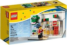 New Lego Store Opening Promo Set 40145 (White Shop version) Rare 2015 VIP Gift