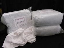 20 KG BAG OF 100% COTTON SHEET LINT FREE CLEANING RAGS / WIPING CLOTHS