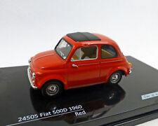 FIAT 500 D-1960 ,rojo , 1:43 , Vitesse