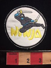 Martial Arts NINJA WARRIOR Patch S60F