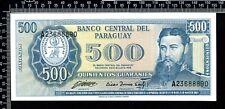 Paraguay / 500 Guaranies 1952 / n° 23688890 / Non circulé (UNC)