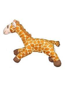 "Animal Alley 2009 Brown Plush Giraffe Stuffed Animal Toy Laying 14"" Geoffrey"