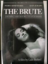 THE BRUTE- R1 DVD, Luis Bunuel, Remastered, OOP, Very RARE