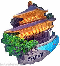 Temple of the Golden Pavilion Kyoto Japan Japanese 3D Fridge Magnet Refrigerator