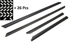 AUDI A4 8D D5 95-2001 LOWER BOTTOM MOULDING DOOR protective rubber 1set 4 pieces