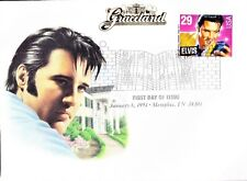 ELVIS PRESLEY FIRST DAY OF ISSUE COVER JANUARY 1993 GRACELAND, COMMERATIVE STAMP