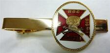 Templar Knights Crusaders Crusades Skull Crossbones Iron Cross Tie Bar Clip