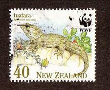 New Zealand--#1025 Used--Tuatara Lizard--1991