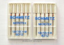 10 SCHMETZ MICROTEX / SHARP SIZE# 12  130/705 HM  HOME SEWING MACHINE NEEDLE