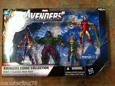 Marvel Universe LOKI HAWKEYE HULK  IRON MAN Avengers Comic Collection Walmart
