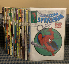 THE AMAZING SPIDER-MAN Comics (Lot Of 30) Copper, Marvel # Between 301-399 C700