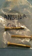 AN3-16A Bolt Pack of 3