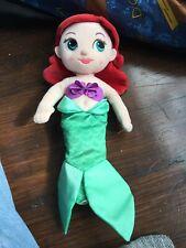 Disney Plush Animator Ariel Doll Soft Toy The Little Mermaid