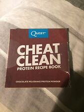 6 Quest Cheat Clean Protein Recipe Book Shakes Cakes Mole Brownie Hot Chocolate