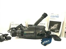 Sony CCD-F402 Video 8 Camcorder Bundle Batteries, Chargers, Accessories