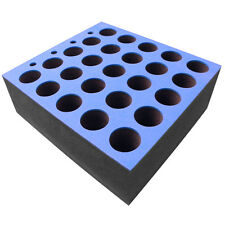 Foam Microphone Insert for 25 Microphones Fits 6U Rack Drawer