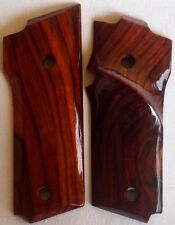 SMITH & WESSON MODEL 59 TARGET GRIPS WITH COCOBOLO ROOT WOOD S-10 L@@k