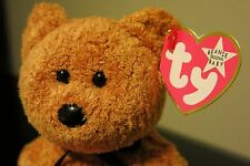 RARE TY BEANIE BABY FUZZ - PINK TAG - WHITE STAR - ERROR OTHER TYPOS - BABIES PE