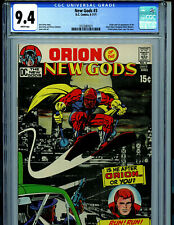New Gods #3 CGC 9.4 NM 1971  DC Comics Kirby 1st Black Racer Amricons K9