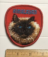 Himalayan Cat Breed Long Haired Souvenir Embroidered Patch Badge