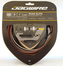 Jagwire Road Elite Polymer Coated Sealed Shift Cable Kit For Sram/Shimano Coffee