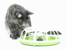 Catit Design Senses Interactive Multi-Sensory Cat Toy Motorised Ball Roundabout