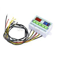 DC 24V LED Digital Temperature Controller Microcomputer Thermostat NTC10K Sensor