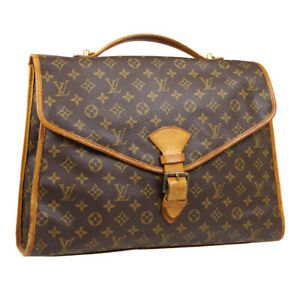 LOUIS VUITTON BEVERLY 2WAY BUSINESS HAND BAG SL0991 PURSE MONOGRAM M51120 33444