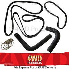 Radiator Hose & Drive Belt SET - Toyota 4Runner VZN130 3.0 V6 (90-96)