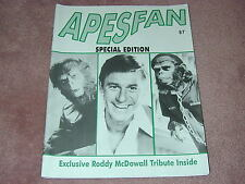 APESFAN magazine/fanzine, all about Planet of the Apes, LOADED with photos!