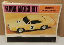 DODGE BOYS NOS CHARGER MOPAR ELDON 1968 HO MATCH KIT BOOK COVER SLOT CAR PROMO