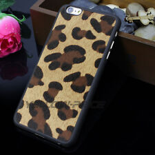 iPhone 6s Case, Luxury LEOPARD Matte Shockproof Hybrid Case for iPhone 6 4.7''