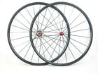 23mm width carbon fiber bike 24mm Clincher wheels 700C road bicycle wheelset