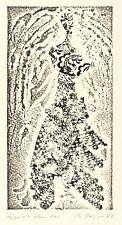 PHILIP OESER - Hippie-Vanitas - Materialdruck 1972