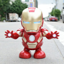 Dancing Iron Man Toys Hand Model Music Light Dance Electric Hyun Robot Doll