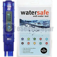 Watersafe WS-425W + TDS-EZ Meter, Well Water Test Kit, Bacteria Lead Pesticides