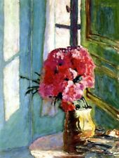 Carnations  :  Pierre Bonnard :  circa 1900  :  Fine Art Print :  Home Decor