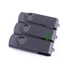 USB Flash Drive 4G 4Giga 4GB 5PCS Memory Pen Thumb Stick Black Swivel Fold