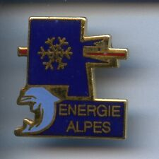 RARE PINS PIN'S .. ANIMAL DAUPHIN DOLPHIN EDF GDF ENERGIE ALPES DAUPHINE 38 ~W1