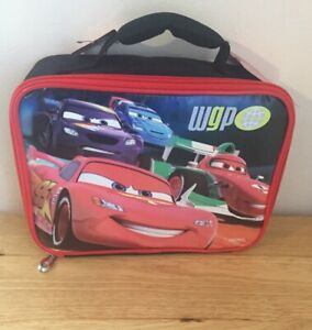 Disney Pixar Cars Lightning McQueen Thermos Insulated Lunchbox NWT