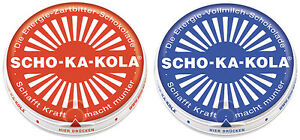 MFH Scho-Ka-Kola Zartbitter Vollmilch Schokolade Outdoornahrung 1x/5x/10x 100g