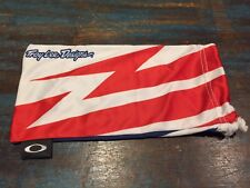 New Oakley Jawbone/Racing Jacket Troy Lee Designs Storage Pouch/Cleaning Cloth